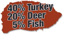 turkey-deer-fish